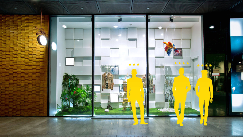 Mystery shopping in retail